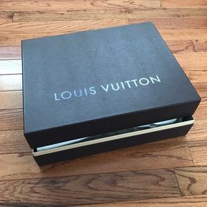 LOUIS VUITTON LV Box Fits a Sac Plat Tote NEW